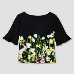 Target x Victoria Beckham floral top